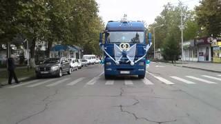 Свадьба на грузовиках г.Белореченска