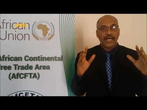 Mekki ELMOGRABI Dakar Workshop Role of Media on AfCFTA AU Trade and Industry