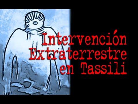 Intervención Extraterrestre en Tassili