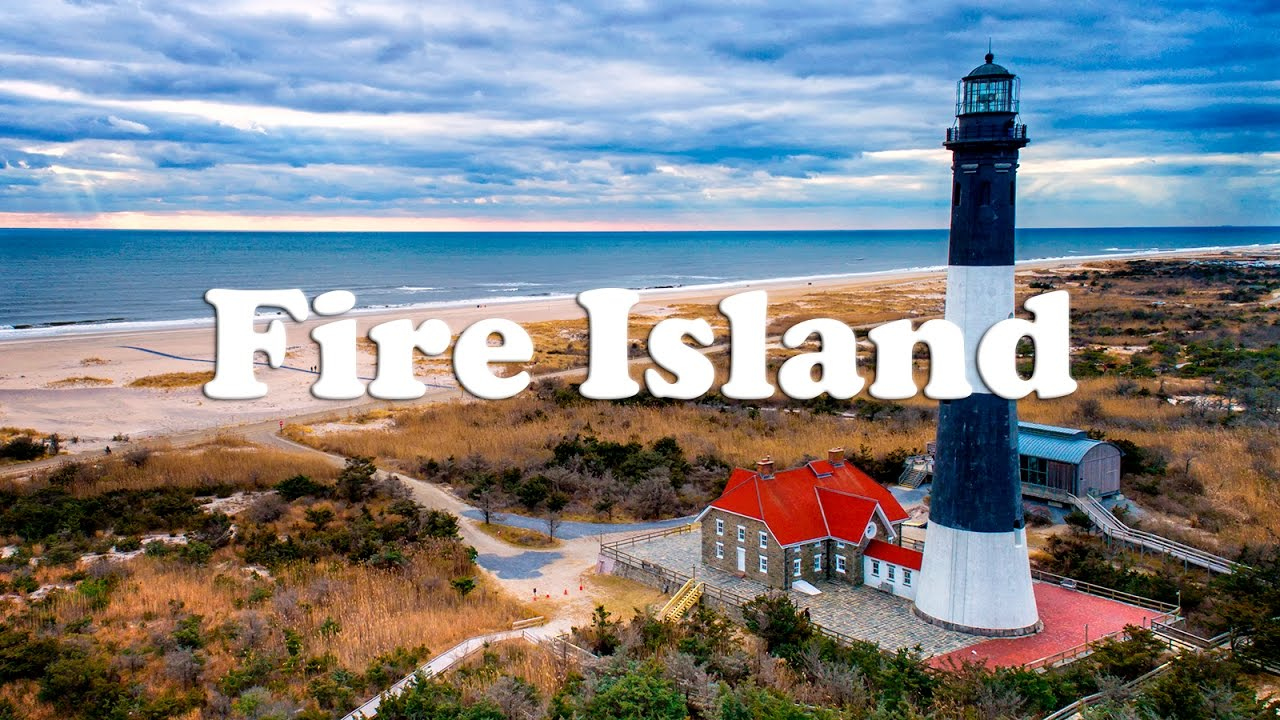 Drone View Fire Island New York Youtube