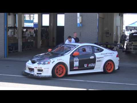 Time Attack Assen JUN 2014  Projectdc5 Integra R vs Marshall Racing EVO 9  off Imports