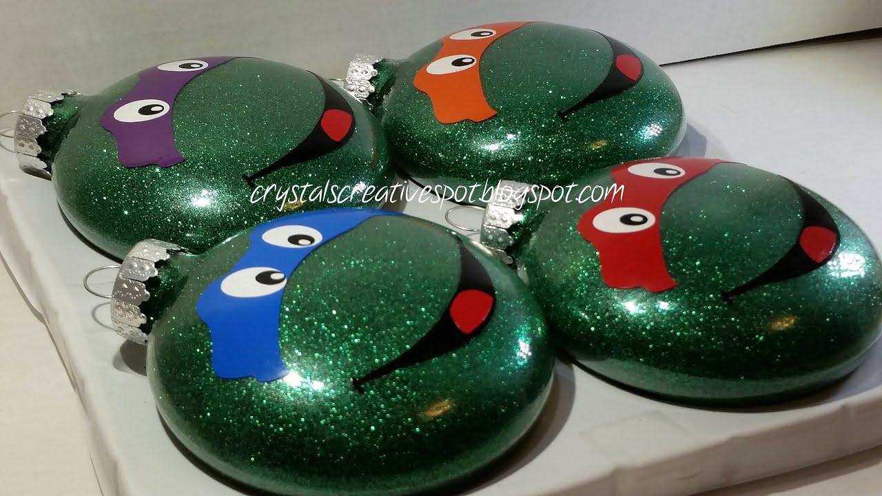 Teenage Mutant Ninja Turtles Christmas Ornaments - YouTube