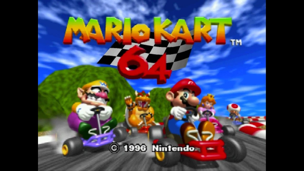 All Mario Kart 64 Intros Hd Youtube