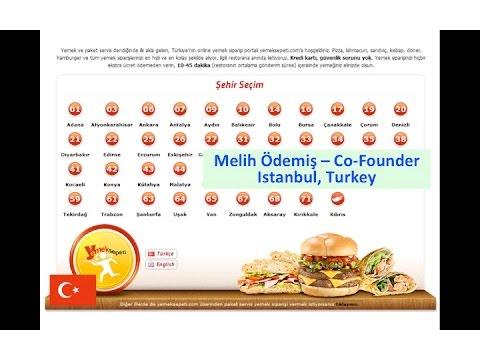 Turkey :: Melih Ödemiş - Yemeksepeti - Food Delivery Startups - Jan 25 2016