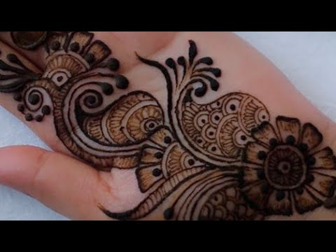 Mehndi Designs 2018 New Style Simple Images