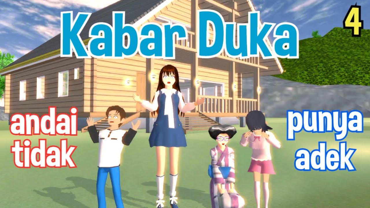 Emil Bersedih Di Rumah Nenek | Andai Tidak Punya Adek S2 Part 4 | Drama Sakura School Simulator