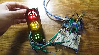 Курс по Робототехнике - Урок 2 Светофор