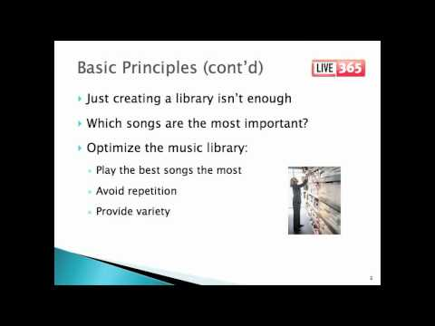 Principles of Programming Music Radio Part 1