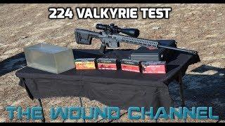 224 Valkyrie Gel & Chronograph Test