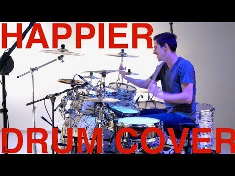 Happier - Drum Cover - Marshmello & Bastille - Pearl Music City Custom!