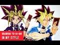 Drawing Yu-Gi-Oh! Duel Links Yami Yugi In My Style
