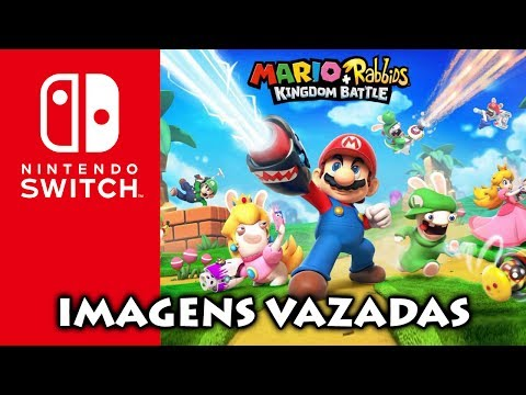 Nintendo Switch: Imagens vazadas de Mario + Rabbids RPG | Controles e comandos de ARMS