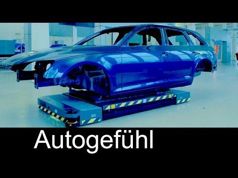 Audi Smart Plant future of car production (semi-)autonomous robots & drones - Autogefühl