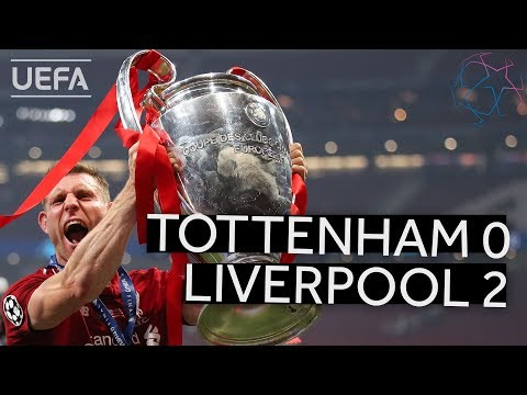 TOTTENHAM 0-2 LIVERPOOL #UCL FINAL HIGHLIGHTS