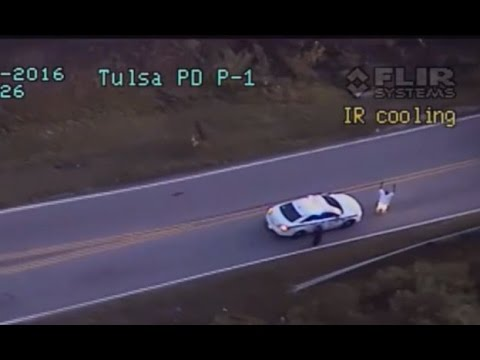 Unarmed black man Terence Crutcher fatally shot by police with hands up (GRAPHIC)