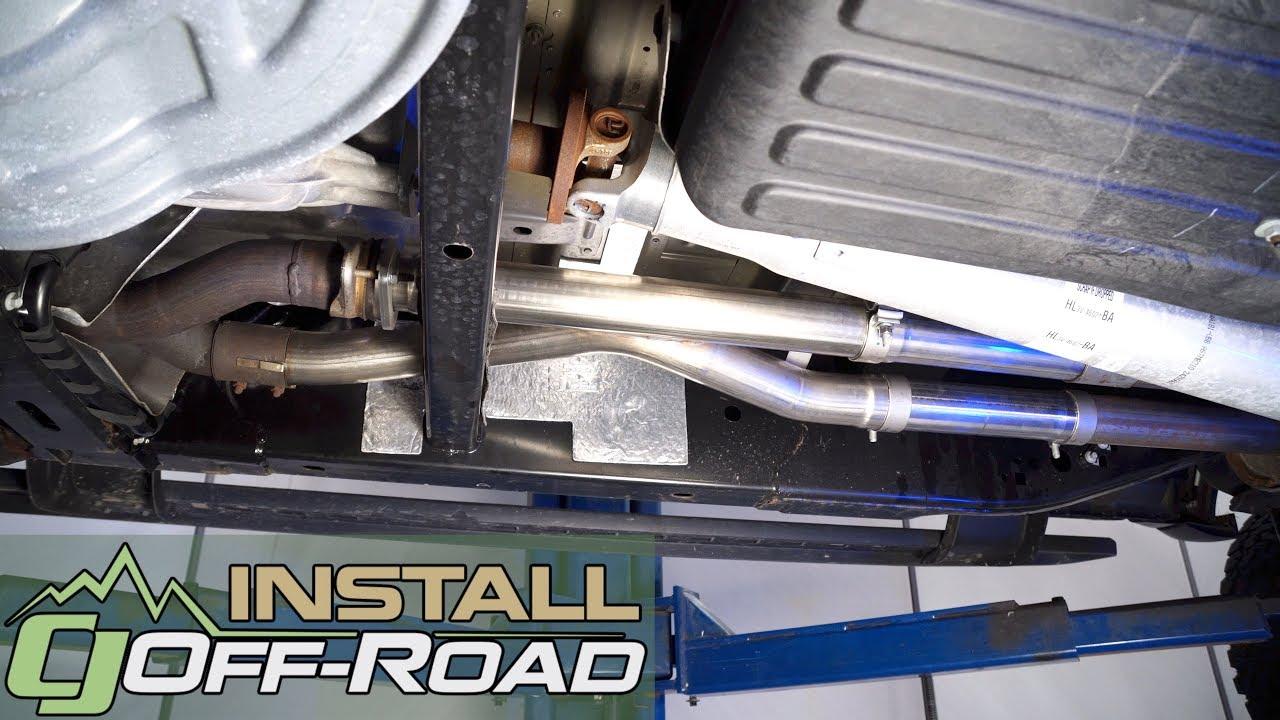 F  Raptor Corsa X Pipe Resonator Delete    Installation