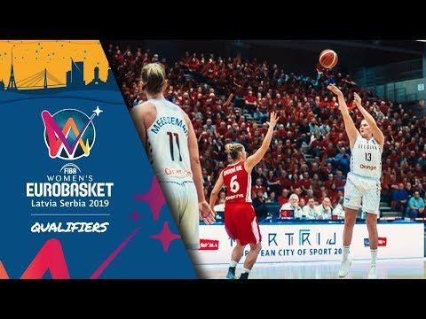 LIVE 🔴 - Belgium v Czech Republic - FIBA Women's EuroBasket 2019 - Qualifiers 2019