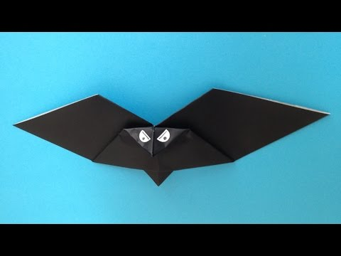 クリスマス 折り紙 折り紙コウモリの作り方 : popmatx.com