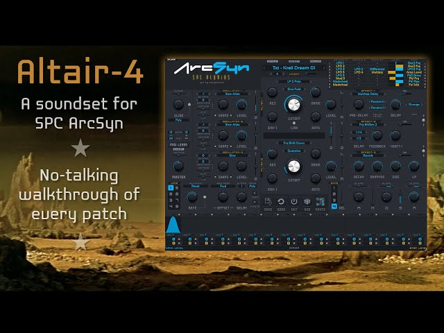Altair-4: 100 patches for SPC ArcSyn (no talking)