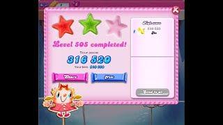 Candy Crush Saga Level 505 ★★ NO BOOSTER