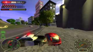 City Racing Game - Chasing with POLICE