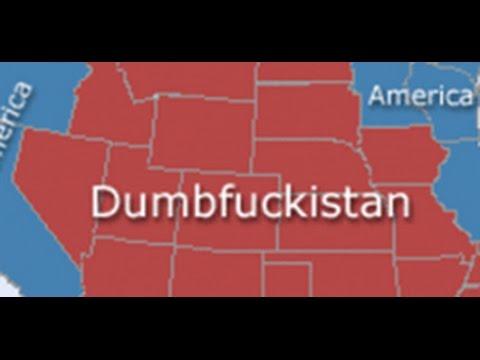 Dumbfuckistan Is Wrong YouTube - Tee shirt us map dumbfuckistan