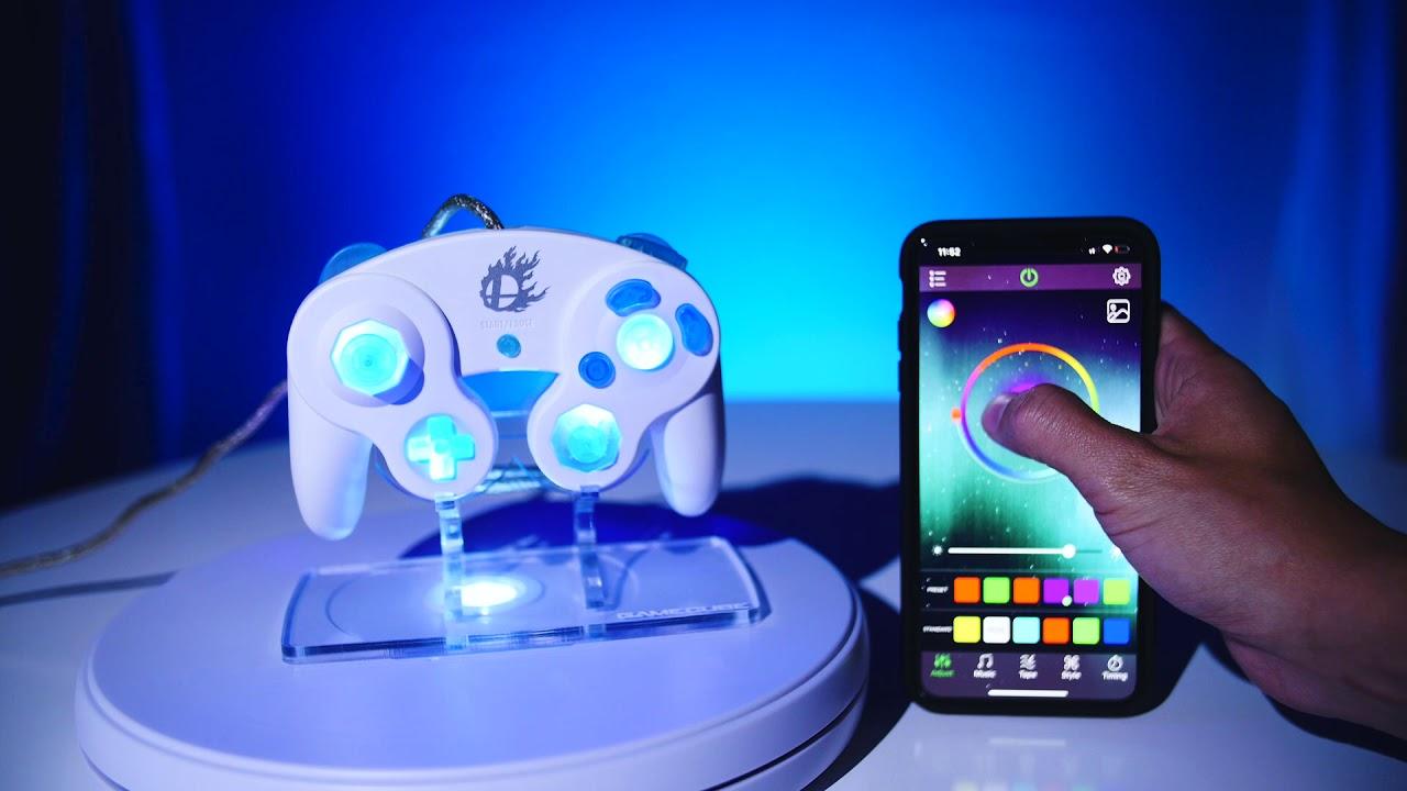 Super Smash Bros Custom Led Gamecube Controller Youtube Alibaba.com offers 843 custom gamecube controller products. super smash bros custom led gamecube controller