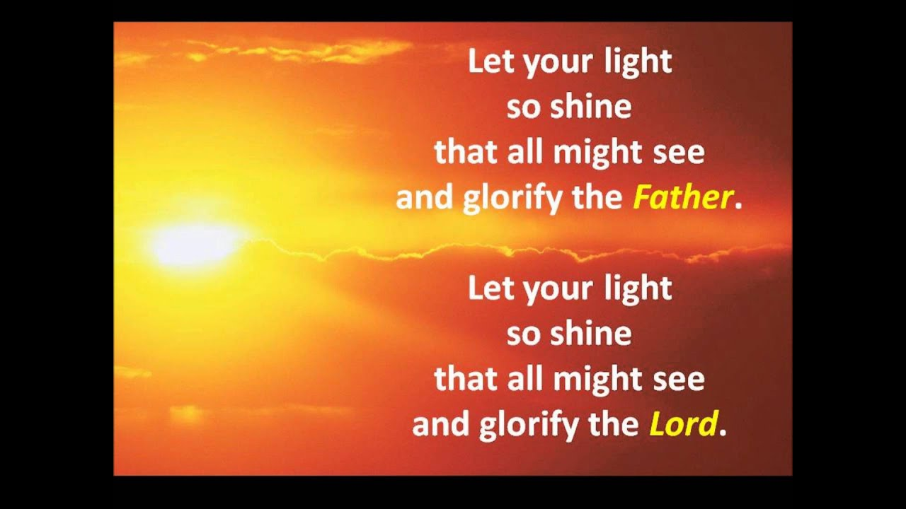 Let Your Light (So Shine) - Buddy & the Kids Time Singers - YouTube