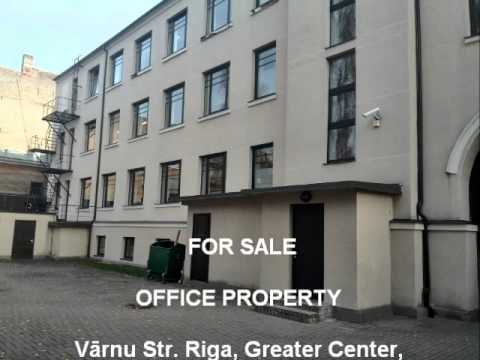 Office property FOR SALE Varnu iela Riga Latvia eng