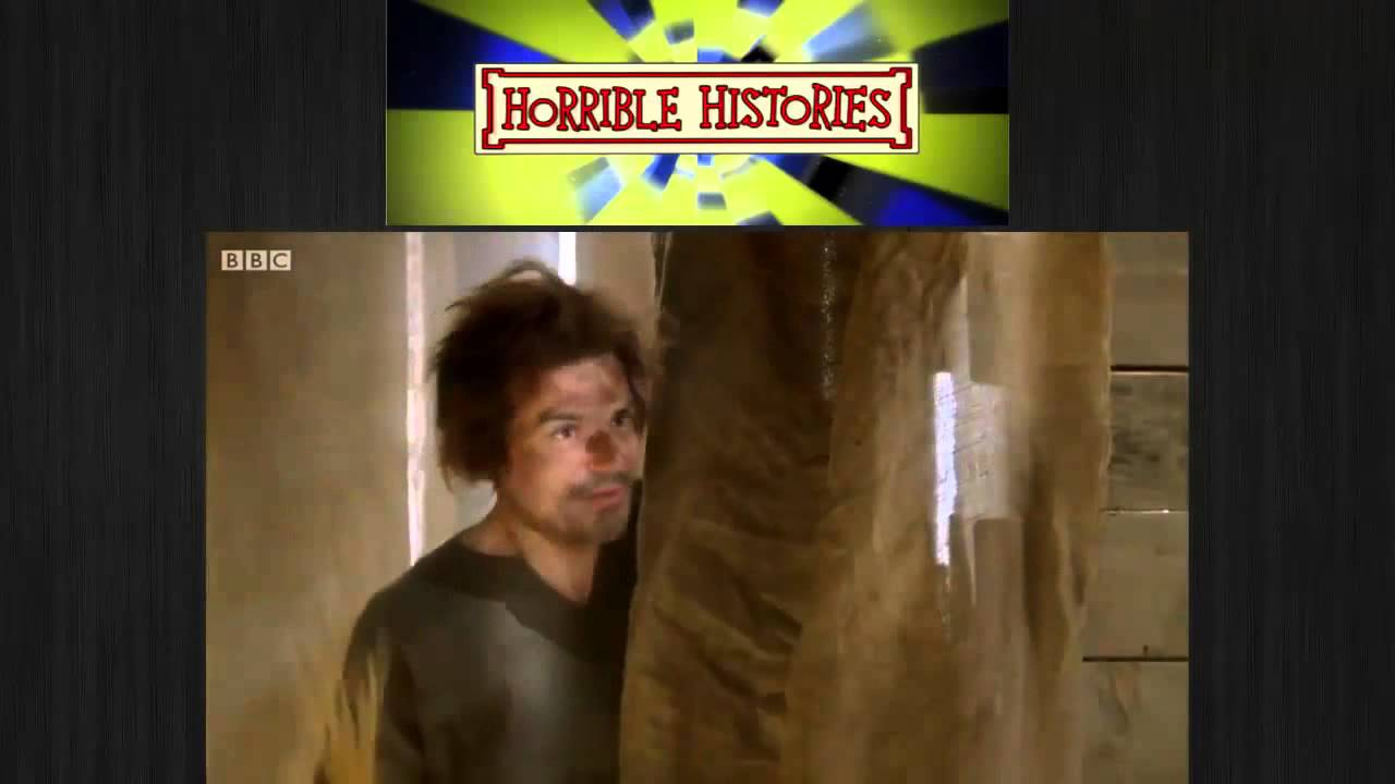 Horrible Histories A Businessman Uses Medieval Toilet