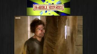 Horrible Histories  A businessman uses a Medieval toilet