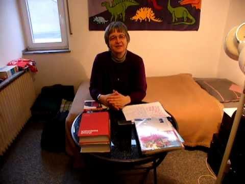 Fasulye taler om sin danske studie pâ folkehojskolen i âret 2011