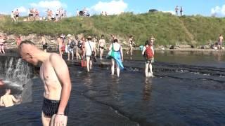 Саблино. Водопад на реке Тосно