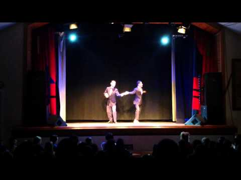 Groovy Brothers in Herrang 2013 Cabaret Week 5. With Marcos Agote & Joris Focquaert