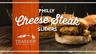 Philly Cheese Steak Sliders Recipe By Traeger Grills