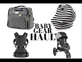 BABY GEAR HAUL #1 | STROLLER, DIAPER BAG & MORE!