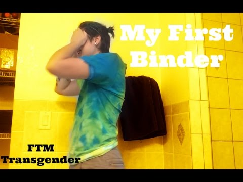My First Binder | FTM Transgender