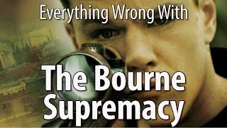 Everything Wrong With The Bourne Supremacy In 12 MInutes Or Less by : CinemaSins