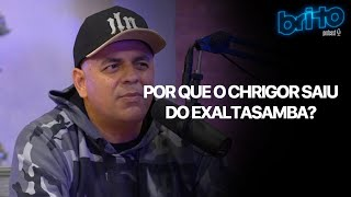 PINHA PRESIDENTE SOBRE A SAÍDA DO CHRIGOR DO EXALTASAMBA   Brito podcast