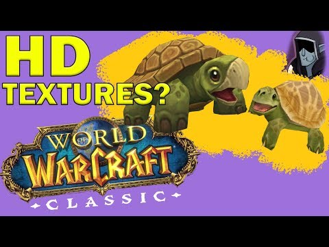 HD Graphics for Classic WoW? Yes or No? (Response to Nixxiom)