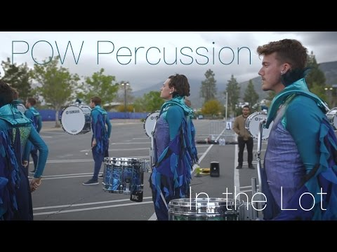 "POW Percussion 2017 ""In the Lot"" 
