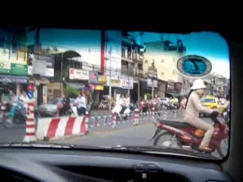 vietnam taxi trip