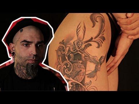 Milano City Tattoo - Clod The Ripper Tatua L'orologio Del Futuro