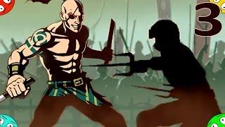 ЦЕГЛА переможений. Перша дуель у грі Shadow Fight 2 #3 бій з тінню і врата тіней мульт
