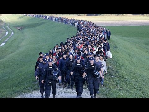 Slovenia appeals to EU for help as refugees overwhelm the country