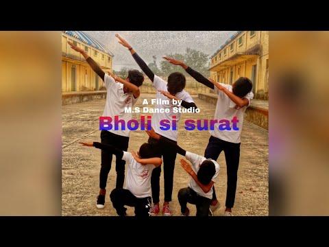 Bholi Si Surat | Dance Video | Dance By Shahrukh | M.s Dance Studio