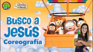 BUSCO A JESÚS -Coreografía- La Patrulla del Rey Feat. Lindy and Friends|