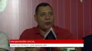 Presentación oficial de José Manuel Rey