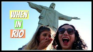 Έκανε το όνειρο της πραγματικότητα! | Rio de Janeiro || fraoules22