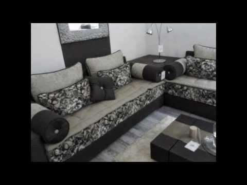 salon marocain moderne design 2014 youtube. Black Bedroom Furniture Sets. Home Design Ideas